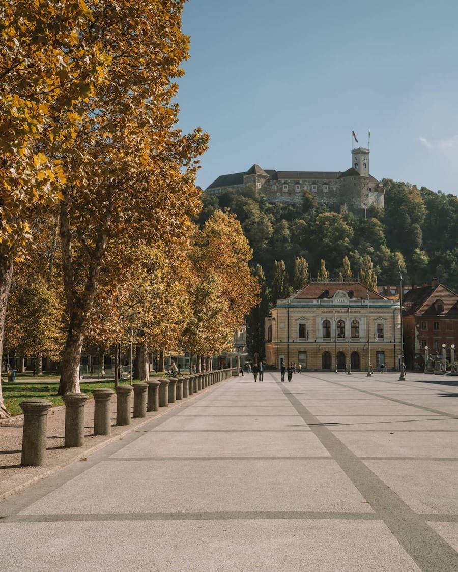 Kongresni Trg, Ljubljana, Slovenia