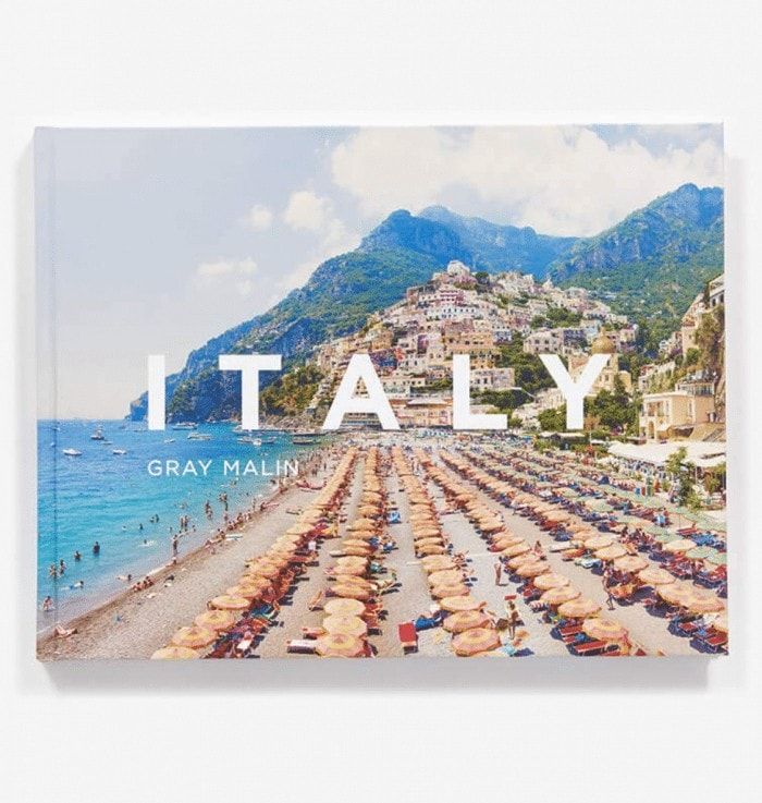 Italy by Gray Malin coffee table book