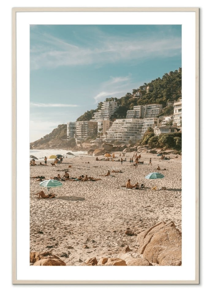 Fine art prints by Michelle Halpern - Cape Town beach