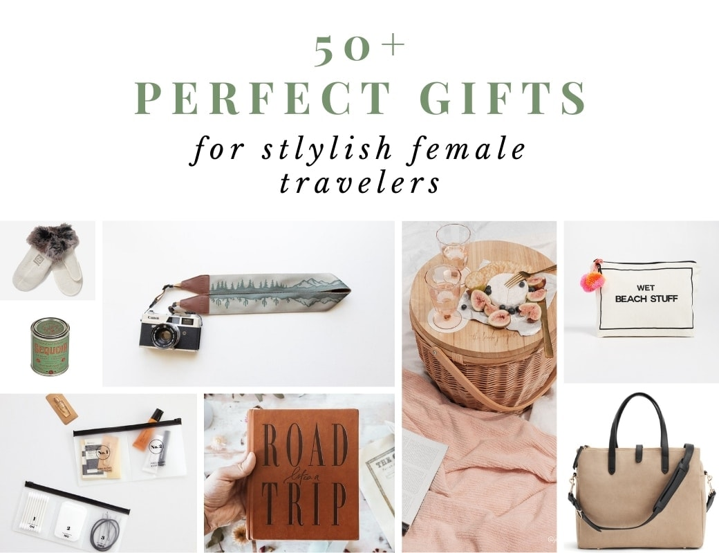 Stylish travel gifts for her