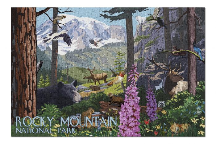 Rocky Mountain puzzle