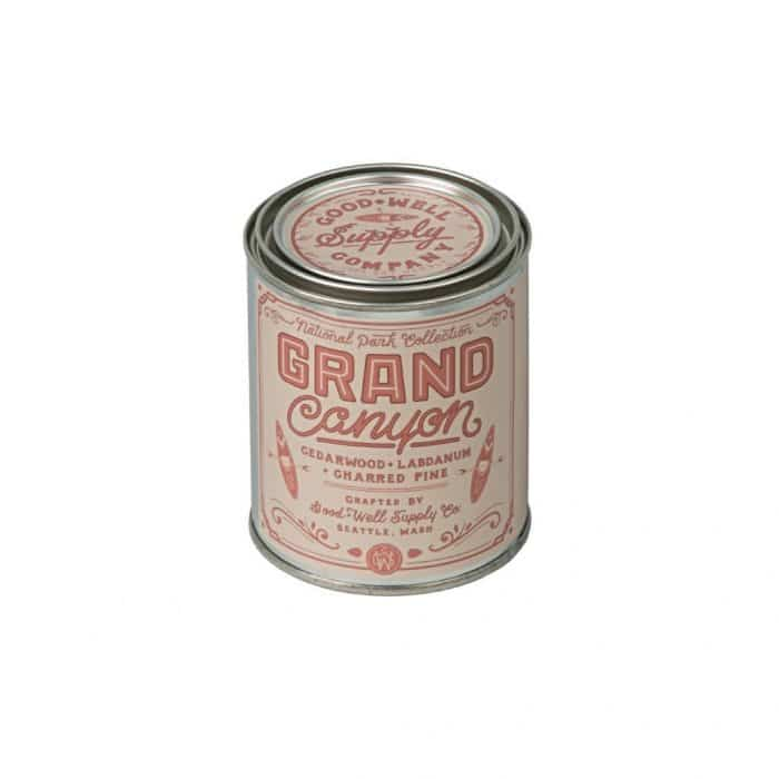 best travel gifts for women - national parks candle