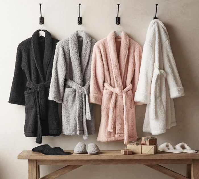 Stylish travel gifts for her - hotel style robes
