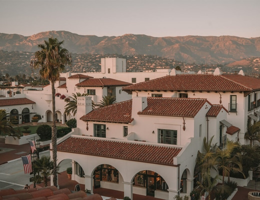 Hotel Californian in Santa Barbara, California