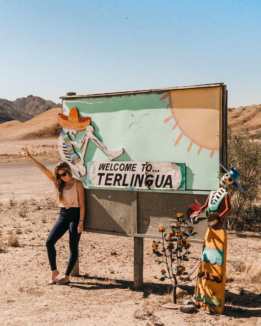 Ghost town of Terlingua, Texas