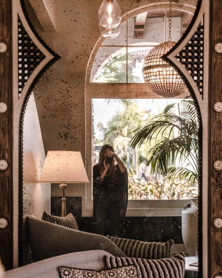 Moroccan inspired decor at Hotel Californian, Santa Barbara