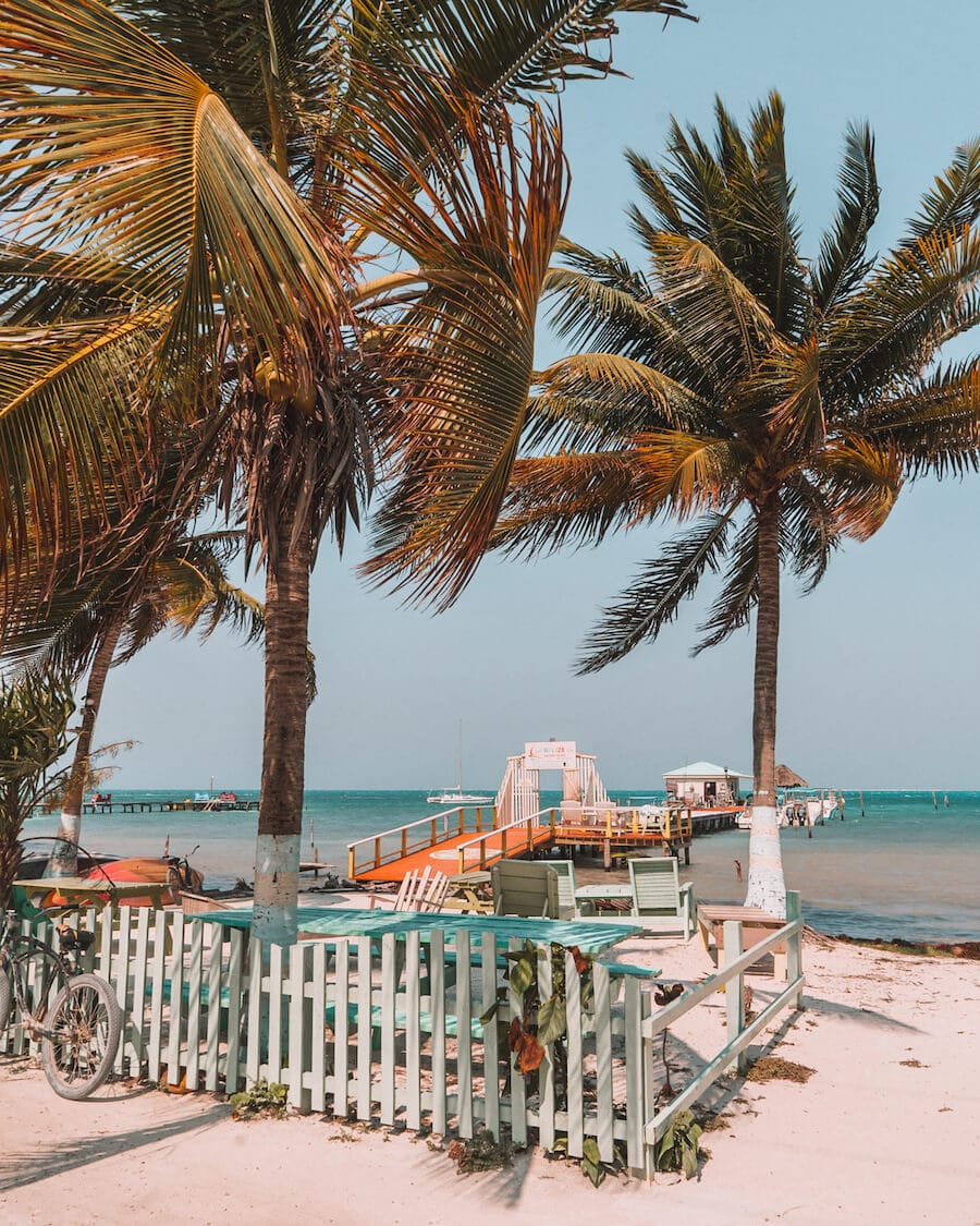 Sunny days in Caye Caulker, Belize