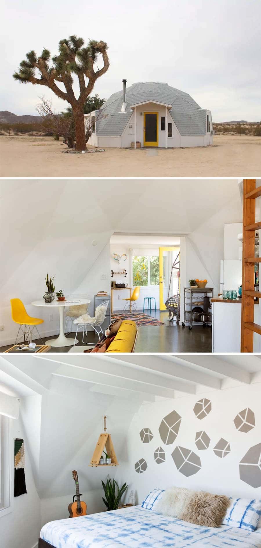 Dome in the Desert Airbnb home in Joshua Tree, California