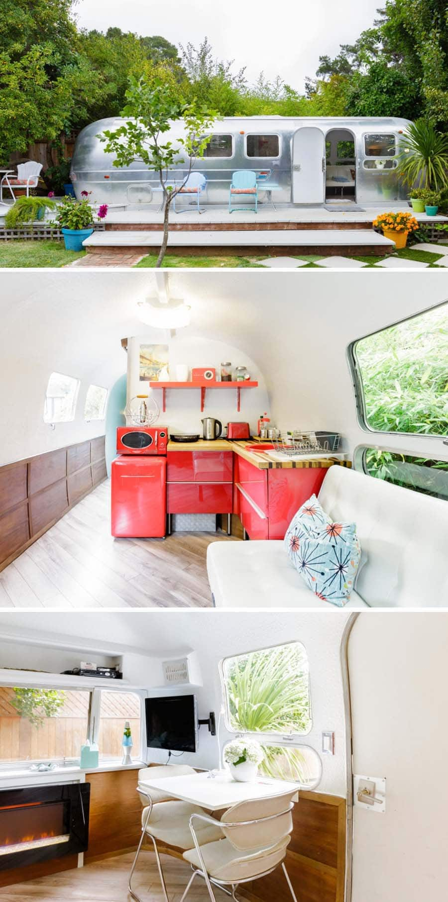 Retro airstream Airbnb in Mill Valley, California