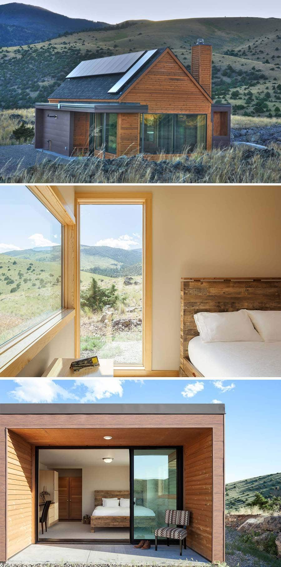 Simple and stunning Airbnb out in nature in Montana