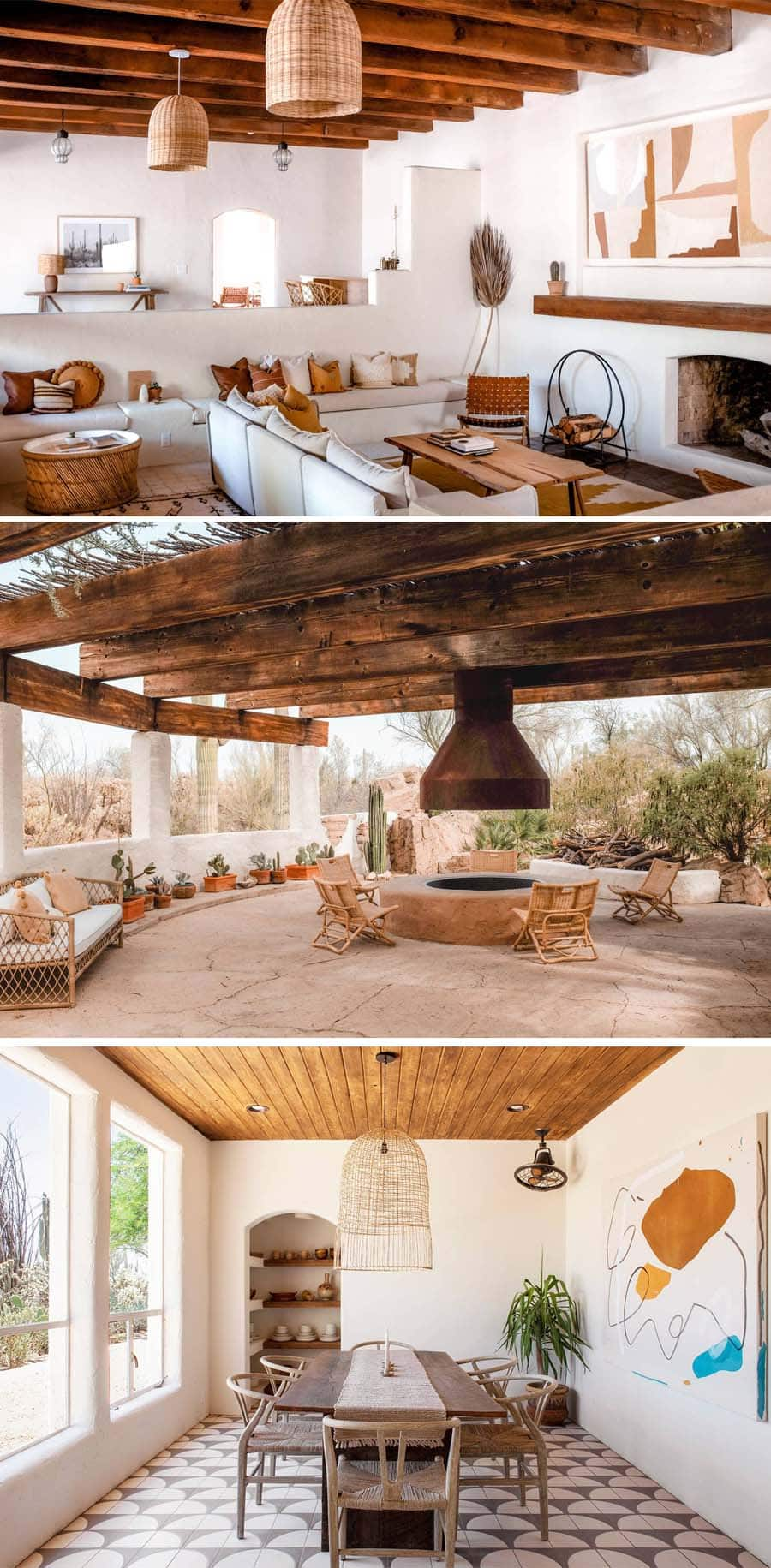 Desert bohemian Airbnb in Tucson near Saguaro National Park
