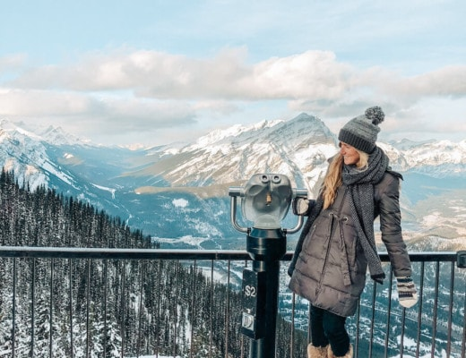 Top of the Banff gondola