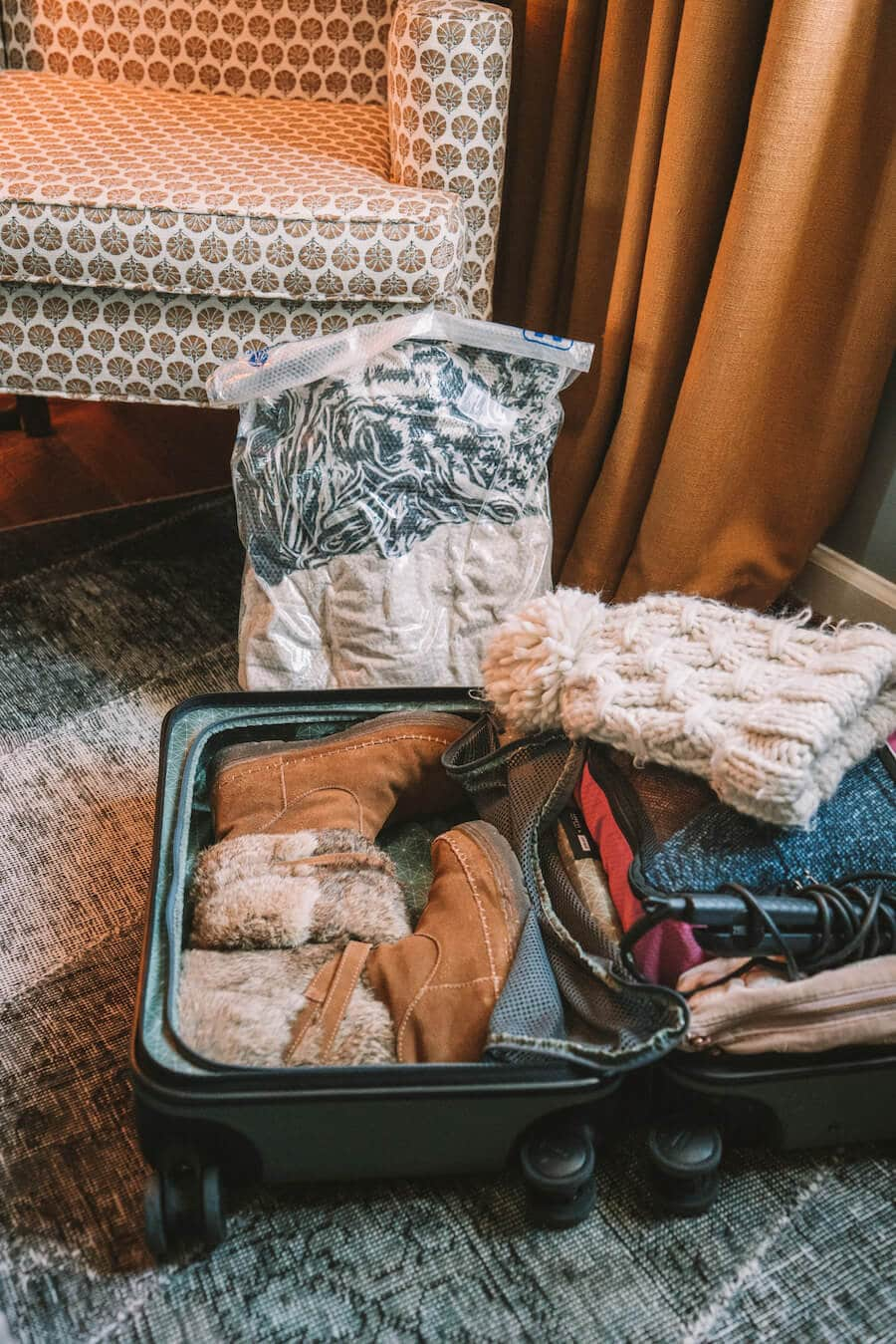 How to pack a carry-on in winter