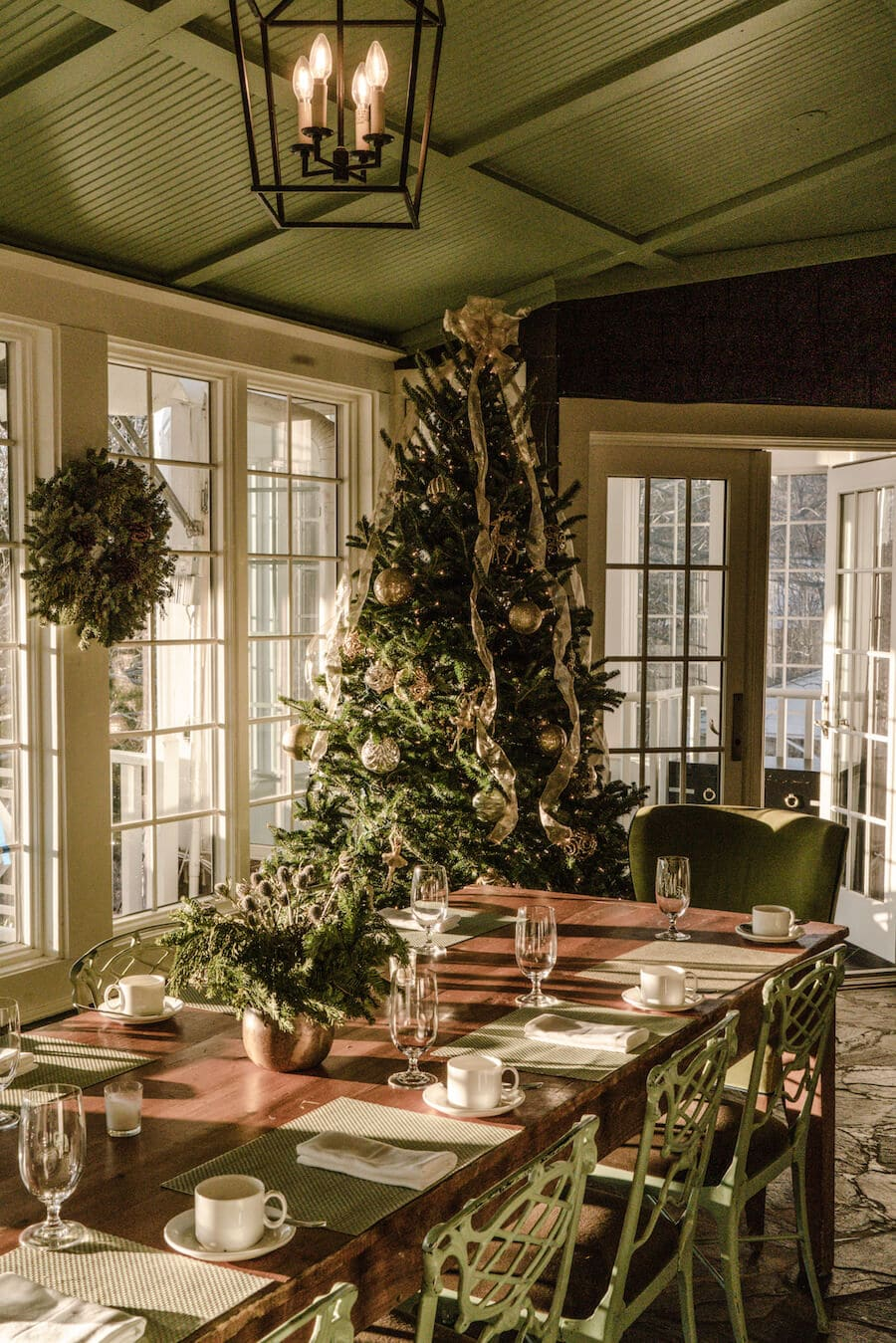 Holidays at the Clifton Inn, Charlottesville