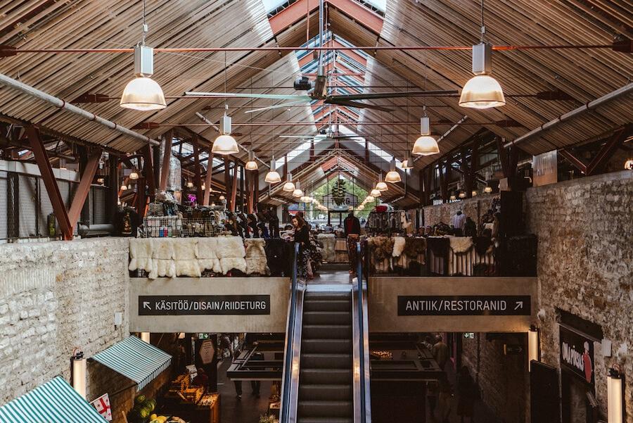 Balti Jamaa Market