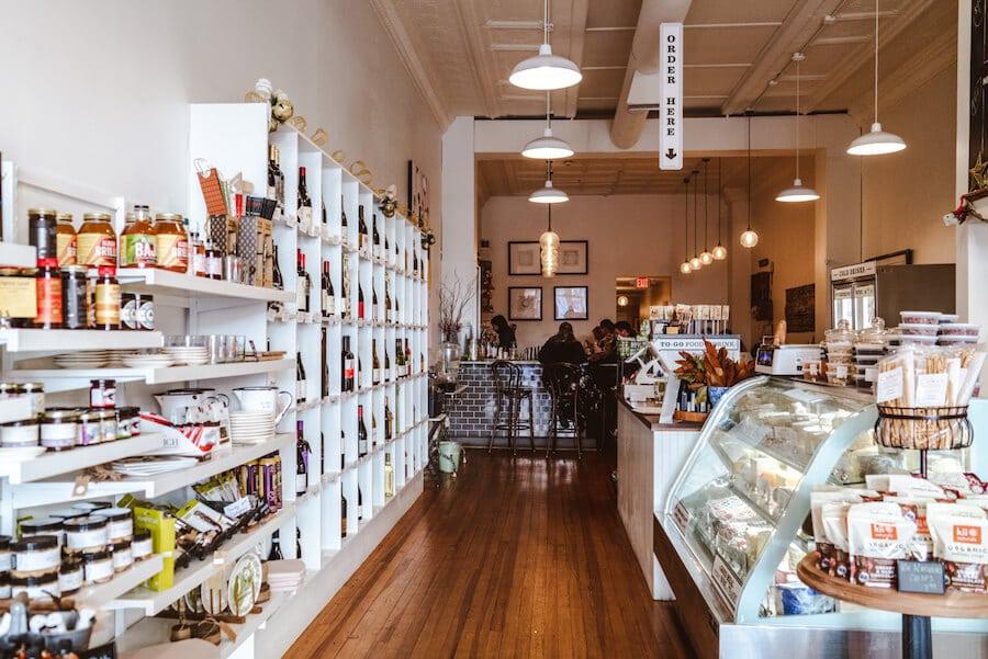 Tilman's wine and cheese shop, Charlottesville, VA