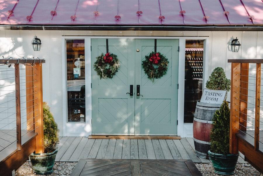 Jefferson Vineyards tasting room