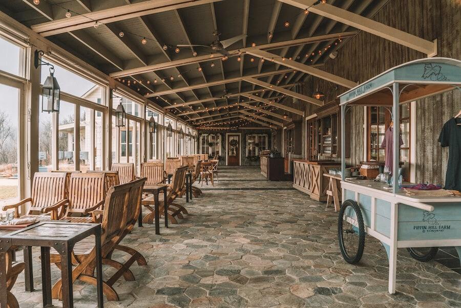 Pippin Hill Farms and vineyard, Charlottesville, VA