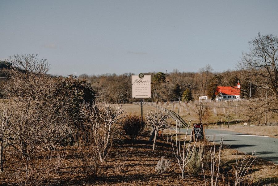 Jefferson Vineyards, Charlottesville, VA