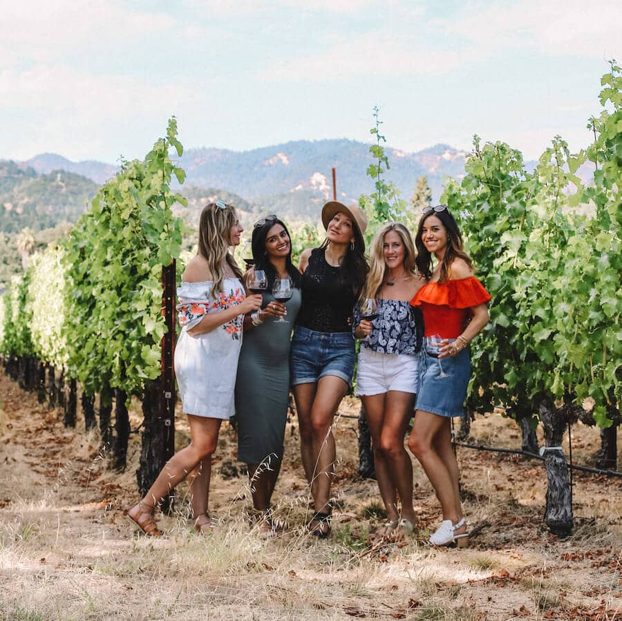 Girls trip to Napa Valley, California
