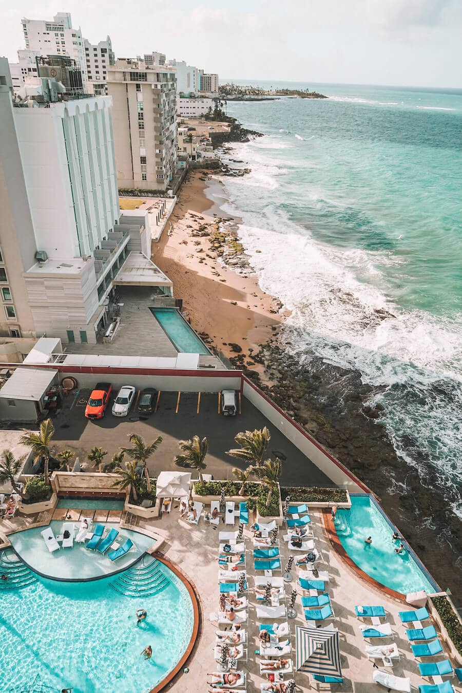 Views from the Condado Vanderbilt in San Juan, Puerto Rico