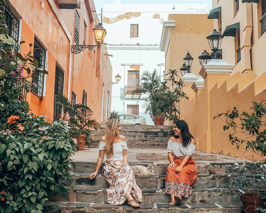 Girls trip to San Juan, Puerto Rico