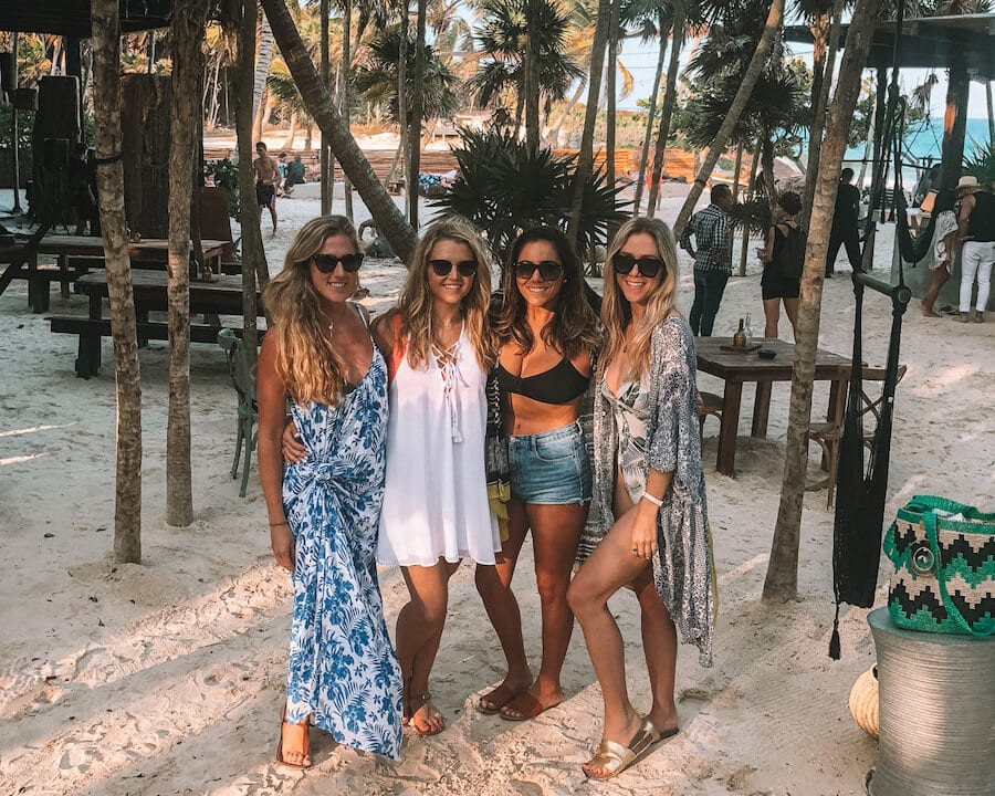 Girls trip to Tulum, Mexico