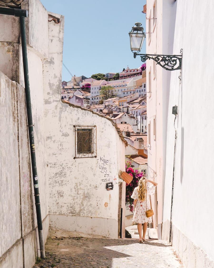 Lisbon, Portugal streets