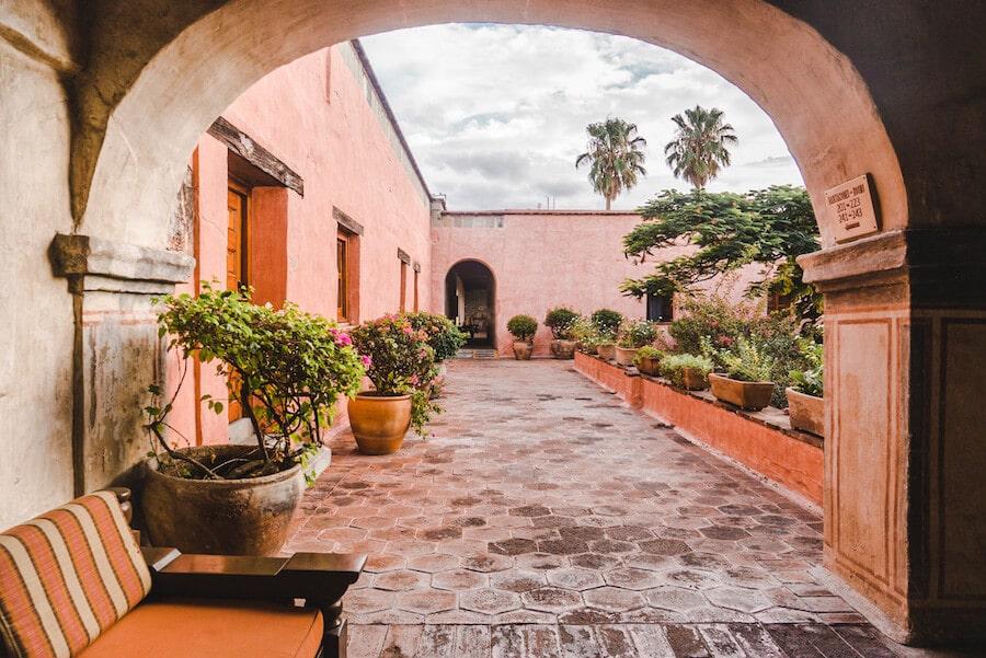 Quinta Real Oaxaca hotel in Oaxaca, Mexico