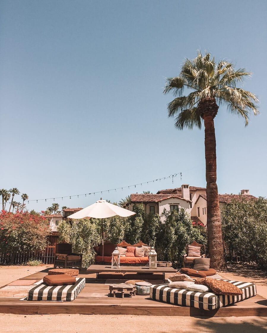Korakia Pensione in Palm Springs