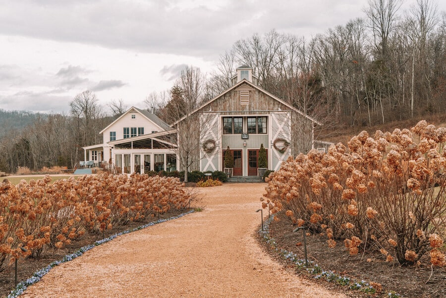 Pippin Hill Winery in Charlottesville, Virginia
