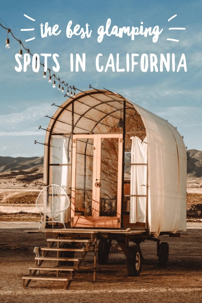 The best glamping in California at the Blue Sky Center in Cuyama Valley