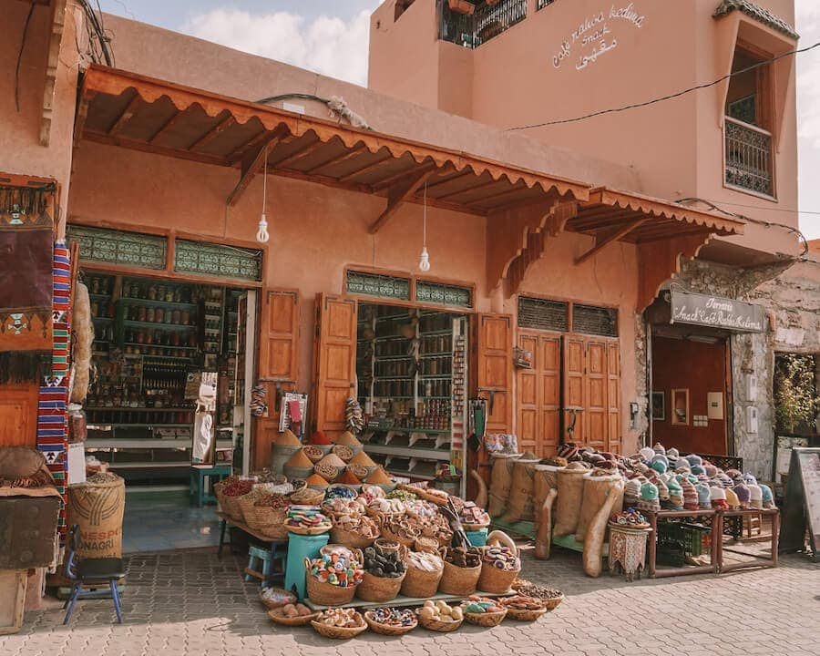Souks in Marrakech