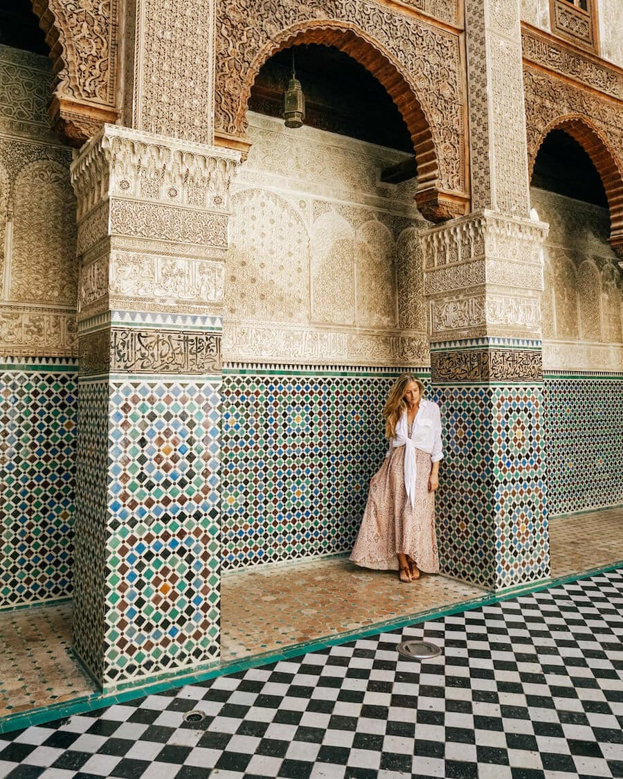 Al-Attarine Madrasa, Fez, Morocco