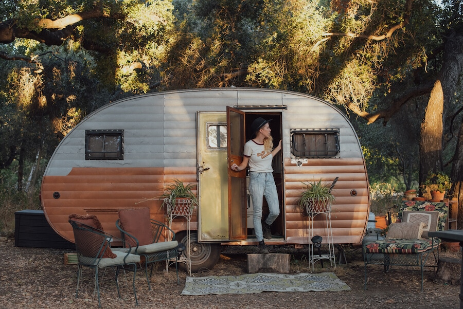 Unique accommodation to go glamping California
