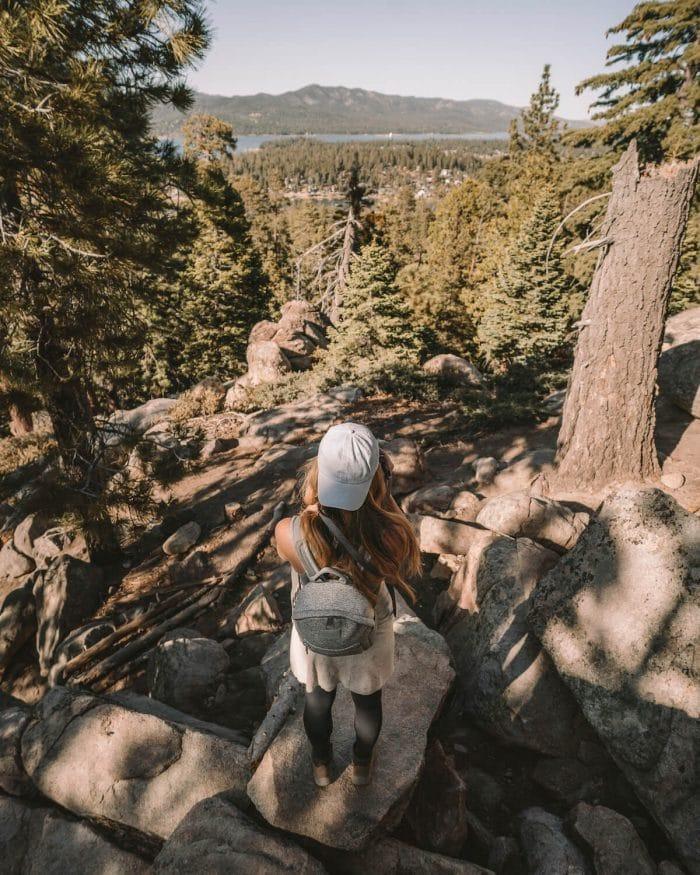 Hiking in Big Bear, California