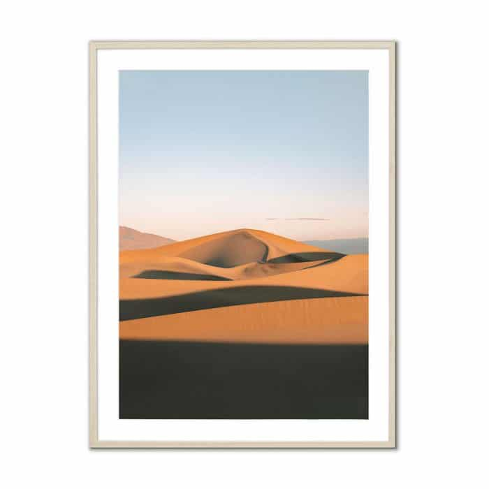 Fine art travel photography print of Mesquite Flat Sand Dunes in Death Valley National Park