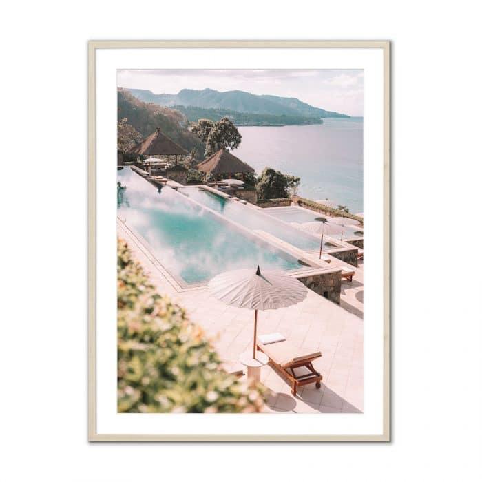 Fine art travel photography print of Eastern Bali resort Amankila