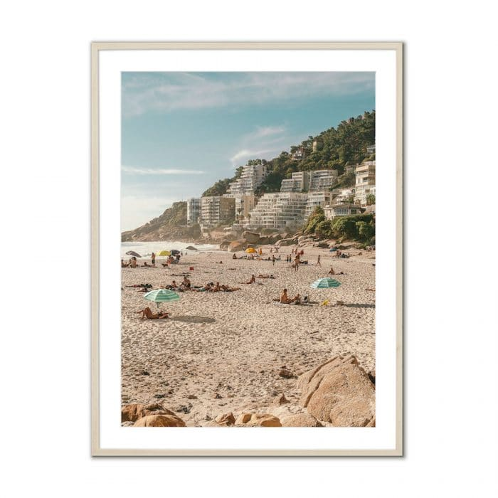 Fine art travel photography print of Clifton Beach in Cape Town, South Africa