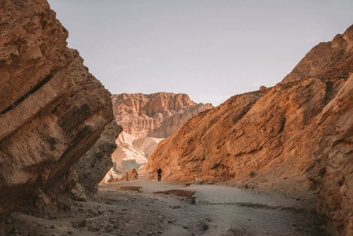 Golden Canyon trail, Death Valley