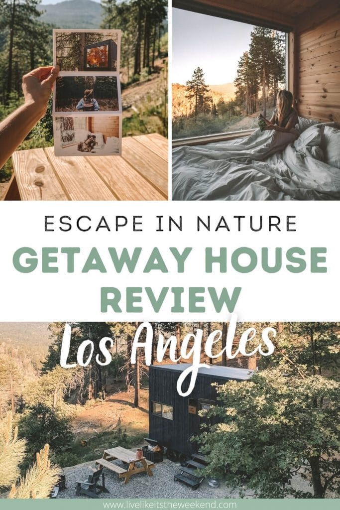 Getaway House Review Pinterest image collage