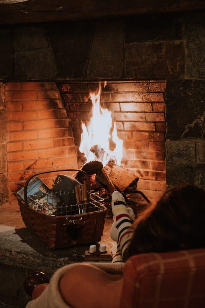 Fireside at Vermont Hill Farm Inn