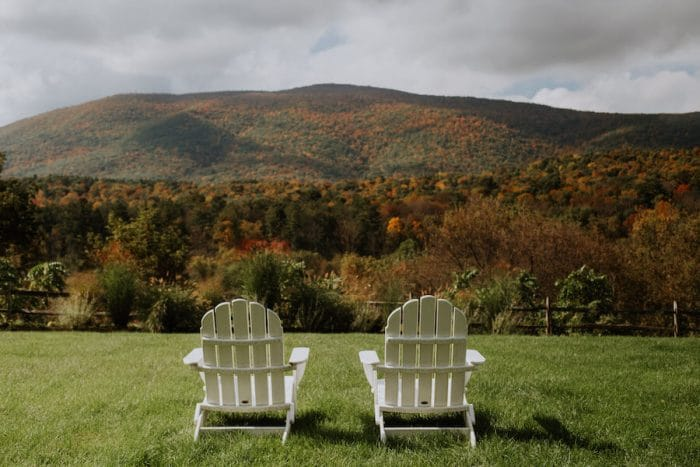 Vermont Hill Farm Inn in autumn