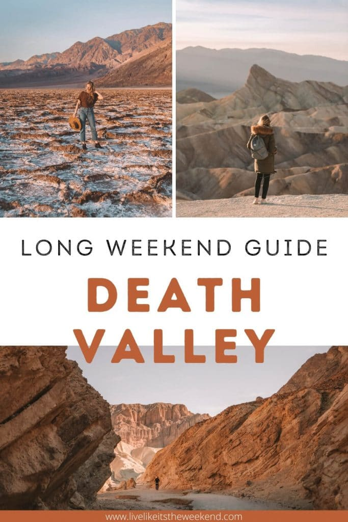 Images of the top sites in Death Valley National Park
