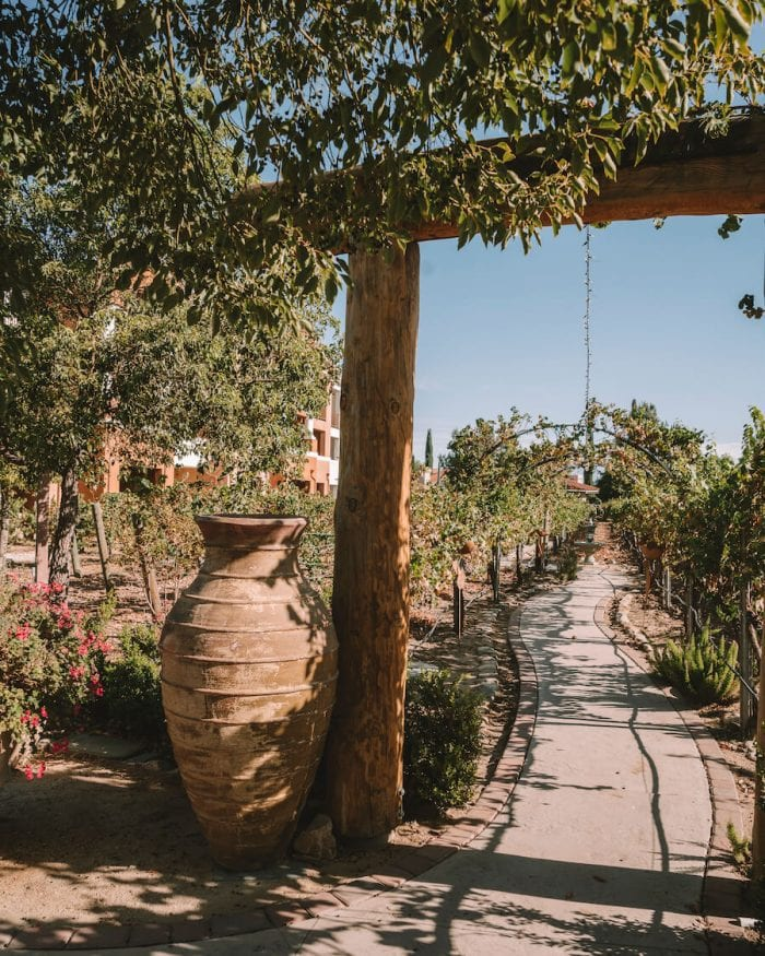 The Serenity Path at South Coast Winery