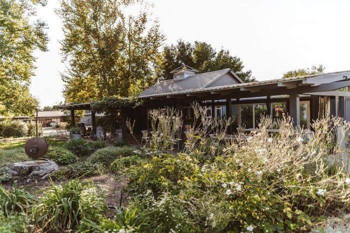 Buttonwood Farms winery in Santa Ynez, one of the best wine regions in California