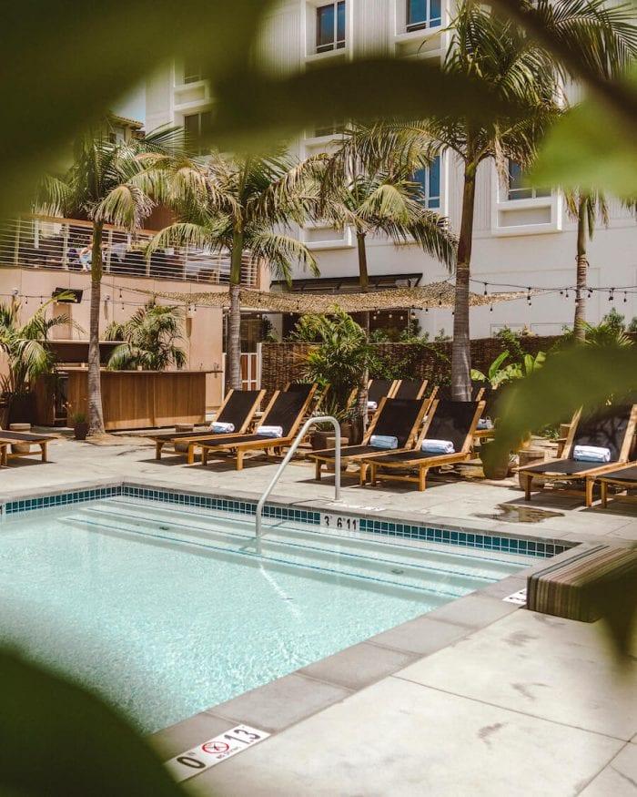Pool at Hotel June in Los Angeles