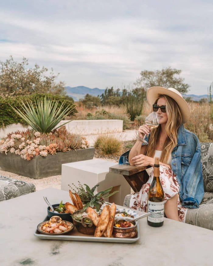 Michelle Halpern at Presqu'ile winery