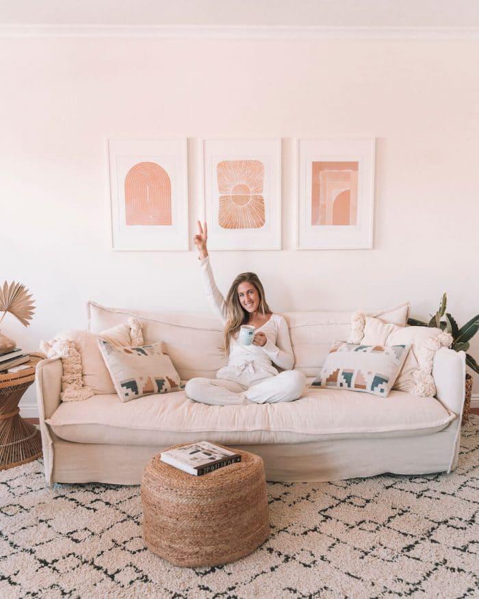 Michelle Halpern at home in Santa Monica