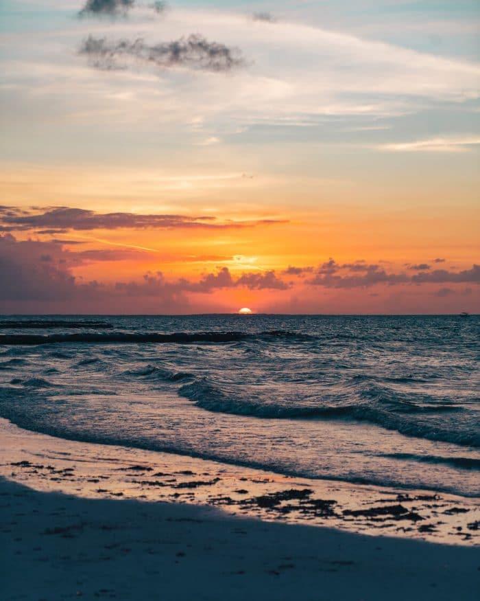 Sunset in Isla Holbox
